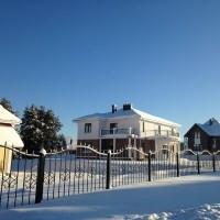 Петровское Барокко фото с хода строительных работ зима 2015