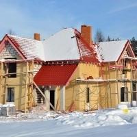 Строительство домов в поселке Петровское Барокко сдача